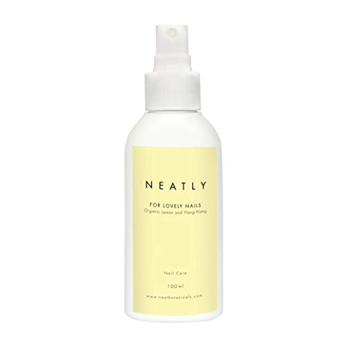 Soin ongle & cuticule BIO Lovely Nails de Neatly   100ml Spray pour renforcer ongles & hydrater cuticules   huile de ylang-ylang & huile de citron