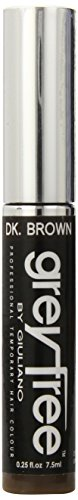 Greyfree Mascara Hair dunkelbraun, 1er Pack (1 x 8 ml)