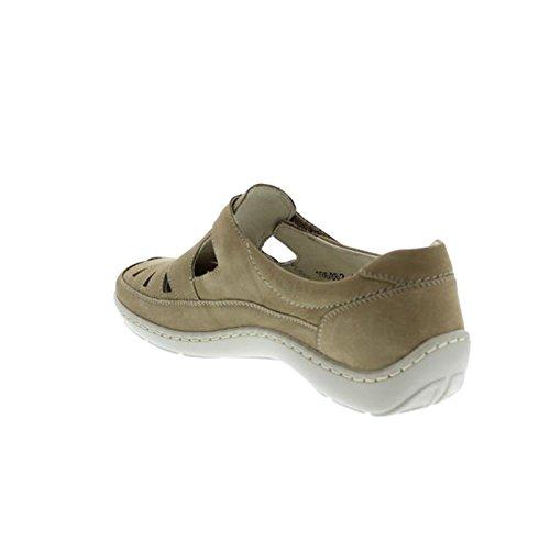 Waldläufer , Chaussures de ville à lacets pour femme Beige - Beige