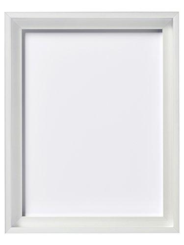 Walther Design JS050W Schattenfugenleiste Shadow Gap Rahmen 40 x 50 cm, weiß