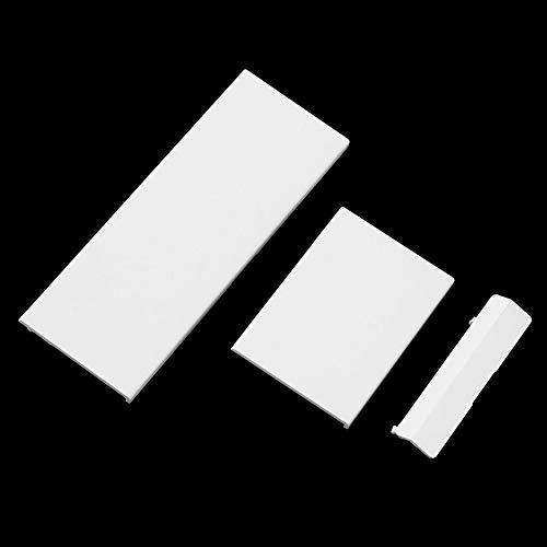 Preisvergleich Produktbild camellia-uk Abdeckung für Nintendo Wii Konsole,  Weiß,  3 Stück
