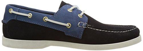 Faguo Larch, Chaussures Bateau Homme Bleu (Navy/Ocean)