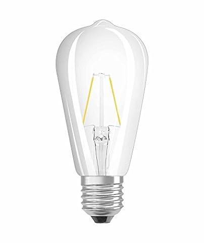 OSRAM LED Retrofit CLASSIC ST / LED lamp, retro design,