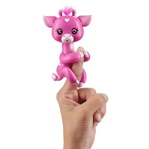 Fingerlings WOWWEE – 35590 Baby Giraffe – Meadow – interaktives Spielzeug