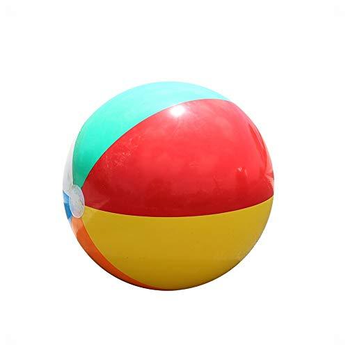 Funytine Regenbogenfarbwasserball, Der Ballspiel-Wasserspielwaren Spielt Aufblasbarer Ball 51cm, Der Wasserspielwaren Spielt (Ball 8 Pool Free)