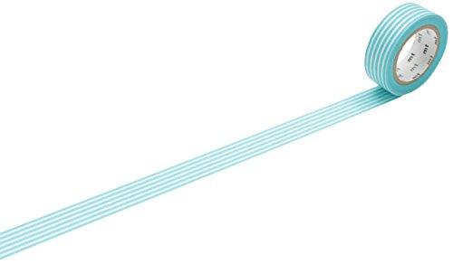 MT Washi Border Masking Tape Roll - Pastel Blue