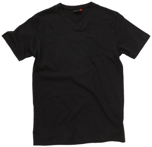Signum Herren Shirt/ T-Shirt 2 er Pack 999901911/999 Schwarz (Black 999)