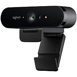 Logitech Brio Gaming Webcam 4K Streaming Edition HD Webcam 1080p (12 Months Premium XSplit License Included)