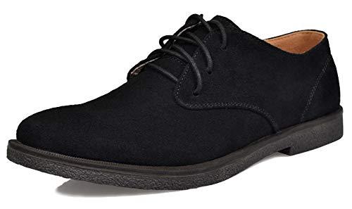 Zapatos de cordones de gamuza para hombre