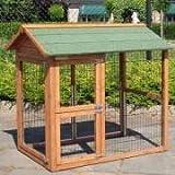Animalhouseshop.de Anbau-Auslauf Double Small Links 84x74x97cm