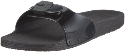 Scholl POP, Scarpe basse Unisex - adulto, Nero (Black), 40