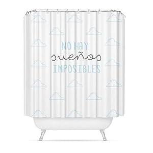 CORTINA BAÑO PEVA «»SUEÑOS»» 180X200 CM