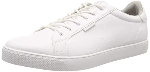 JACK & JONES Herren JFWTRENT PU 19 NOOS Sneaker, Weiß (Bright White), 40 EU(6 UK)