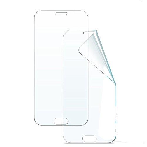 Samsung A5 2017 (A520) 2 Films protection écran en matière TPU souple et résistante couvre la totalité de l'écran de Samsung Galaxy A5 2017 ( vidéo de pose a voir absolument avant votre application)