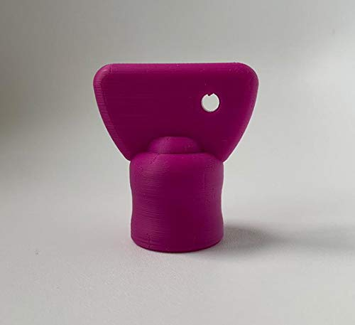 3DJ Teigblume Drehhilfe passend Thermomix TM5 I TM6 Thermomix Zubehör (Lila)
