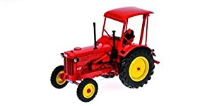 Minichamps PM109153071 HANOMAG R35 Tractor Tractor de Granja con Techo Rojo 1955 1: 1