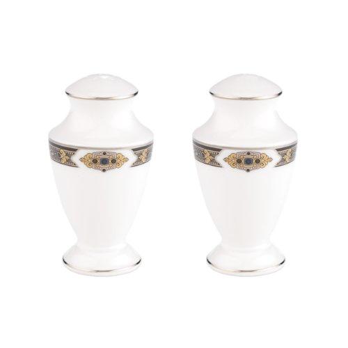 Lenox Vintage Jewel Platin Band Bone China 5-teilig Lenox Vintage Jewel Fine Dinnerware S&P Shakers weiß - Fine China Shaker