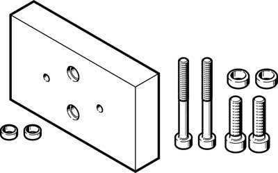 DHAA-G-G6-16-B6-14 (2406159) ADAPTER-BS Einbaulage:beliebig Werkstoffhinweis:RoHS konform