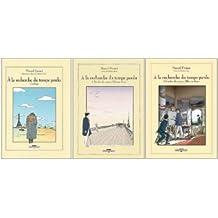 A la recherche du temps perdu : Coffret en 3 volumes : Tome 1, Combray ; Tomes 2 et 3, A l'ombre des jeunes filles en fleurs