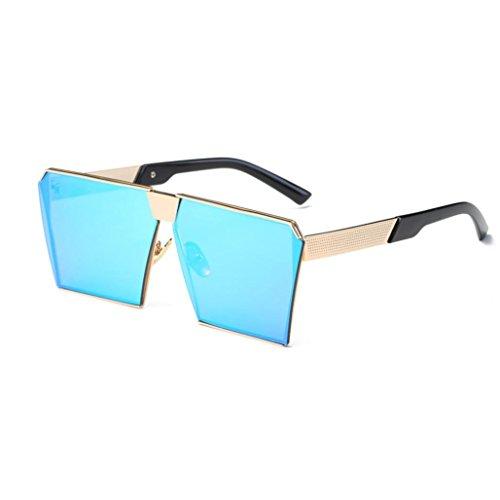 OverDose OverDose Unisex Sommer Frauen Männer Moderne Modische Spiegel Polarisierte Katzenauge Sonnenbrille Brille Damensonnenbrille Herrensonnenbrille (G)
