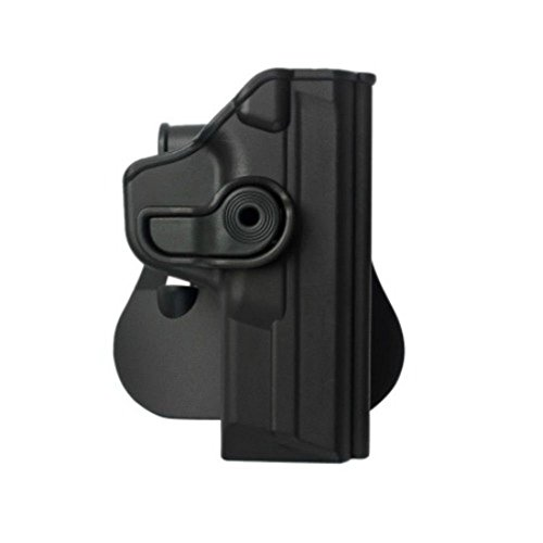 IMI Defense Tactical Retention Concealed Holster Fit Smith & Wesson M&P (9mm/.40/357) Pistol Handgun