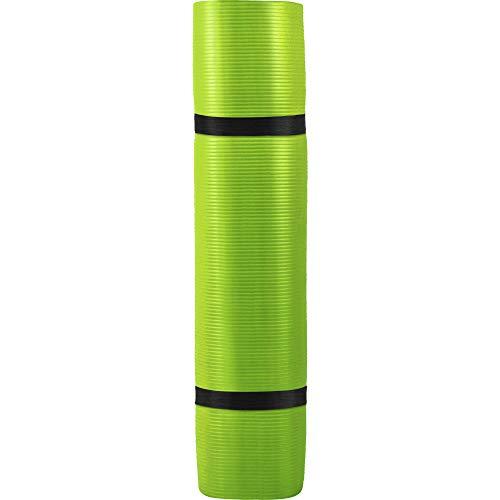 GORILLA SPORTS® Yogamatte mit Tragegurt 190 x 60 x 1,5 cm / 190 x 100 x 1,5 cm rutschfest u. phthalatfrei – Gymnastik-Matte für Fitness & Yoga in 13 Farben
