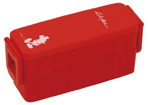 disney-mickey-technicolor-ultra-slim-tight-two-stage-lunch-box-red-yzws3yzws3-japan-import-by-skater