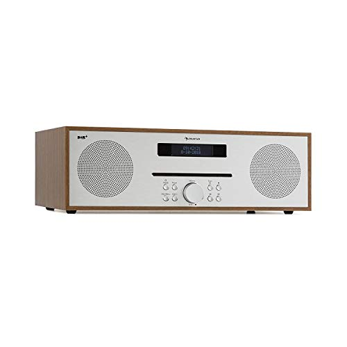 Auna Silver Star Reproductor CD Radio Dab+ FM •