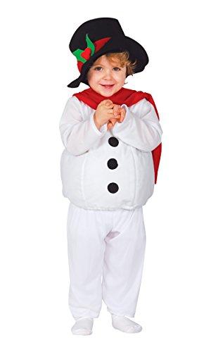 Weihnachten Schneemann Kostüm Kind 6-12 Monate