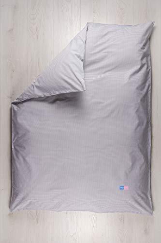 Robert Osswald 1.1.1.3.1.1.1-K05-09 Plumeaubezug Classic einzeln für Kinderbettwäsche - 100cm x 135cm, beige