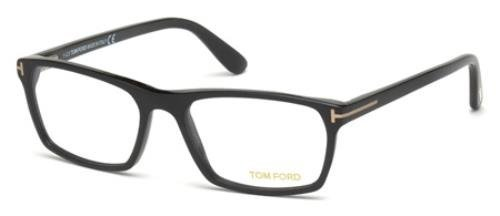 Tom Ford Herren Ft5295 Brillengestelle, Schwarz (NERO OPACO), 56