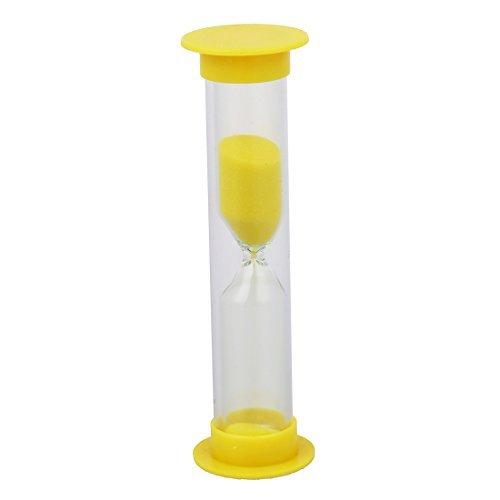 Sanduhr - SODIAL(R) Multifarbige Sanduhr 1-10 Minuten (Gelb 3 Minute)