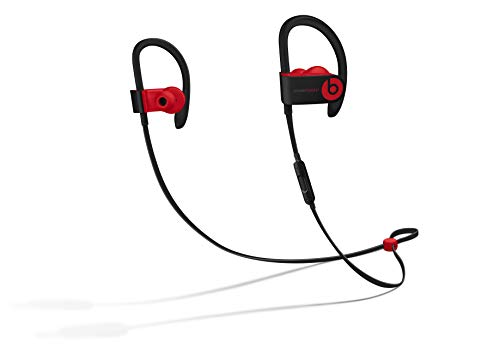 Auricolari Powerbeats3 Wireless - Beats Decade Collection - Nero/rosso ribelle