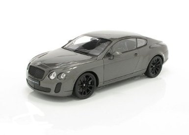welly-18038-sammlermodell-bentley-continental-1-18-aus-metall-satin-schwarz