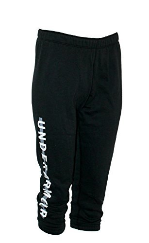 Under Armour Women's Fleece Capri Pants (Black, S) -