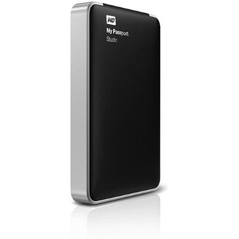 Western Digital 500GB My Passport Studio - Disco duro externo (5 - 35 °C, FireWire 800, USB 2.0, -20 - 65 °C, FireWire, USB, Negro, Windows XP, Vista, 7 Mac OS X Leopard, Snow Leopard, Lion)