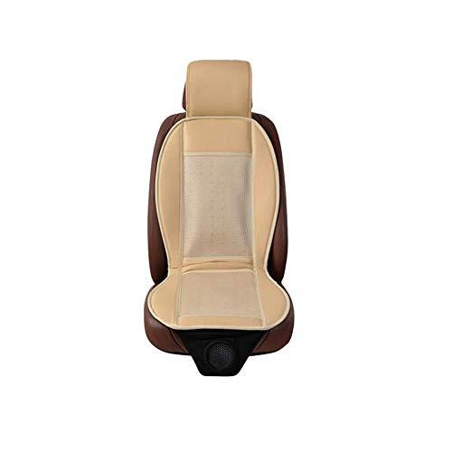benignpoet 12V Auto Sitzkissen Sitzbezug mit Belüftung Funktion und 3D Mesh tragbare atmungsaktive Abdeckung Klima Sitzauflage für Auto Bürostuhl, ganzjährige Nutzung (1 Stück) - 24-zoll-vinyl-sitz