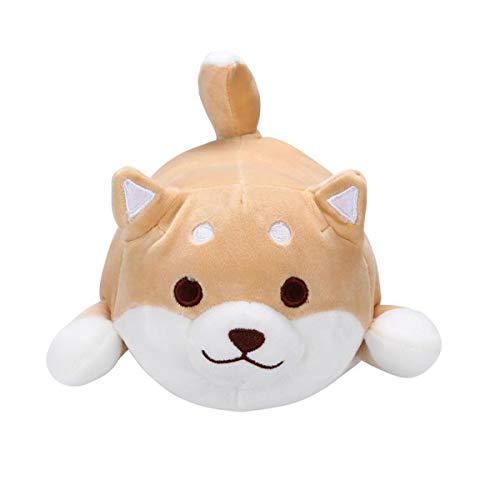 EisEyen Liegend Riesen Plüschtier Cute Akita Hund Plüsch Toy Cartoon Weiche Stofftier Geschenk für Kinder, Bett, Sofa Stuhl