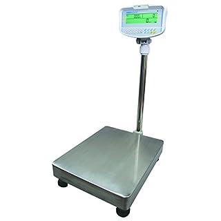 ADAM GFC 75 Digitale Bodenzählwaage, Stahl/ABS Kunststoff, 75 kg x 5 g