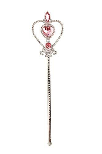 Smiffys 52130 Prinzessinnen-Herz-Zauberstab, Mädchen, Rosa
