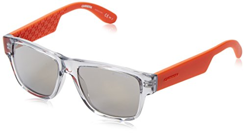 Carrera Junior Unisex-Kinder CARRERINO 15 MV KVU Sonnenbrille, Orange (Crystal Orng/Sup Bronze Grey Speckled), 48