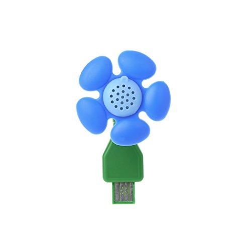 MiSha Humidificador aromaterapia Difusor portátil de aceites Esenciales, USB Port(Azul)
