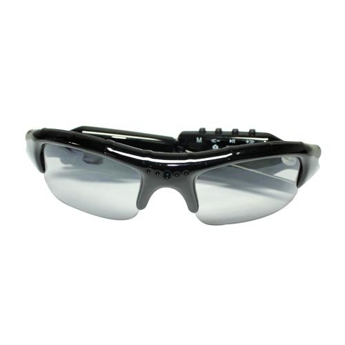 Flylinktech® Neue Mini DV Sonnenbrille MP3 Spy Camera Audio Video Recorder Spy
