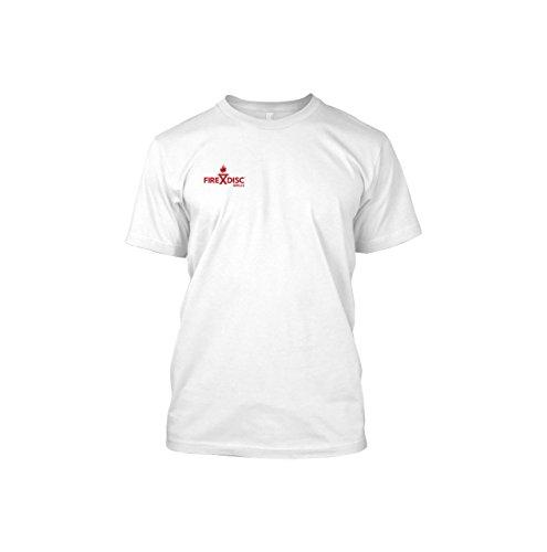 790f13e59dbd35 firedisc – Short Sleeve White Medium T-Shirt – Backyard Disc Pflug Herd
