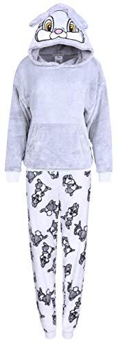 sarcia.eu Grau-weißer, Warmer Pyjama Klopfer Bambi Large