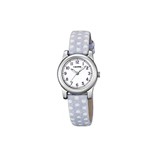 Calypso Mädchen Datum klassisch Quarz Uhr mit Stoff Armband K5713/1