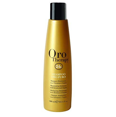 Shampooing illuminant 300ml Kératine et Argan Oro Therapy