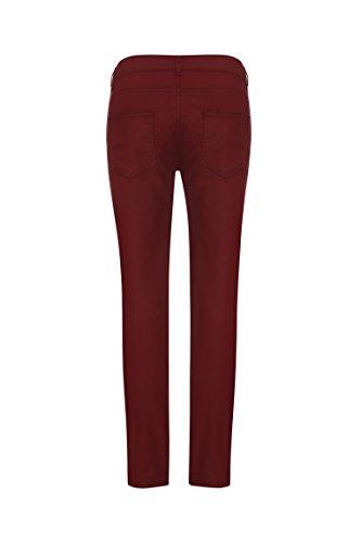 bellybutton Damen Umstandsjeans Jeans Rot (dark Wine|red 2026)