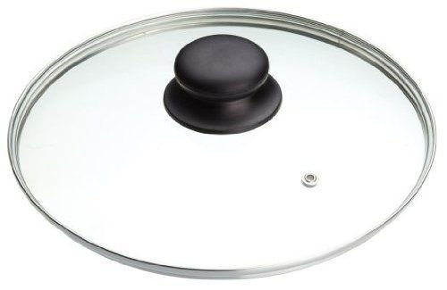 B&F Tempered Glass Saucepan Casserole Frying pan Lid (14 cm, 16 cm, 18 cm, 20 cm, 22 cm, 24 cm, 26 cm, 28 cm, 30 cm, 32cm, ) Replacement Lids for pans and pot, (18 cm)