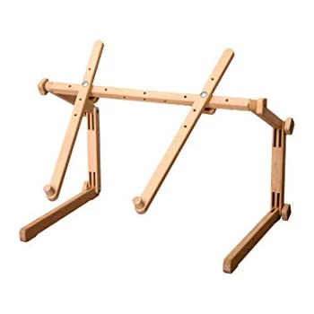 Stickst/änder f/ür Tisch und Couch Rhein mit Stickrahmen 20x24 cm verstellbar Holz